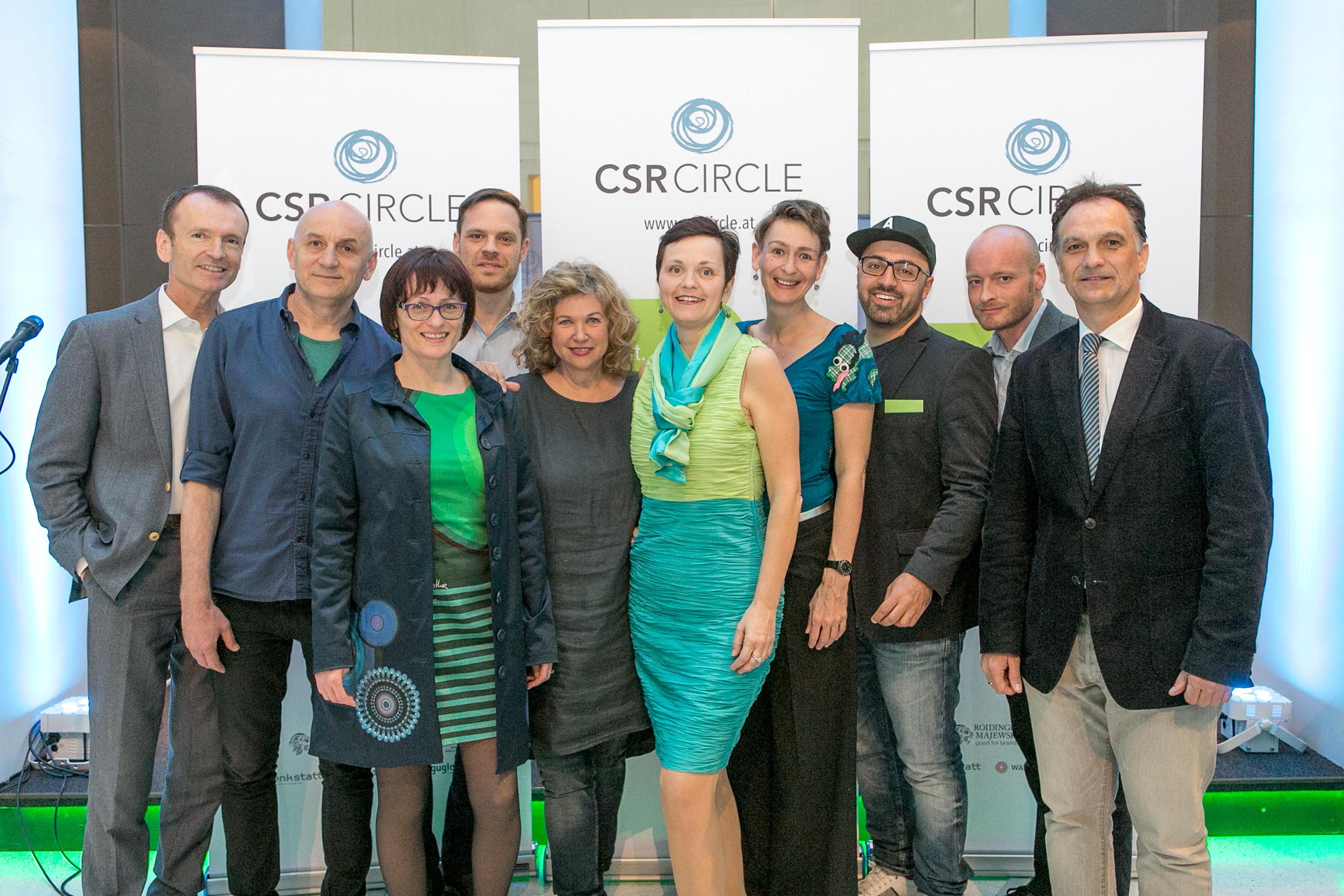 """""""CSR-Circle feiert Jubiläum: Fünf Jahre für Nachhaltigkeit & CSR"""""""