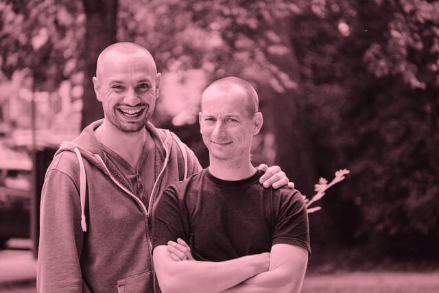"""Markus & Felix: """"Mit bei-mir-um-die-ecke haben wir uns einen Traum verwirklicht."""""""
