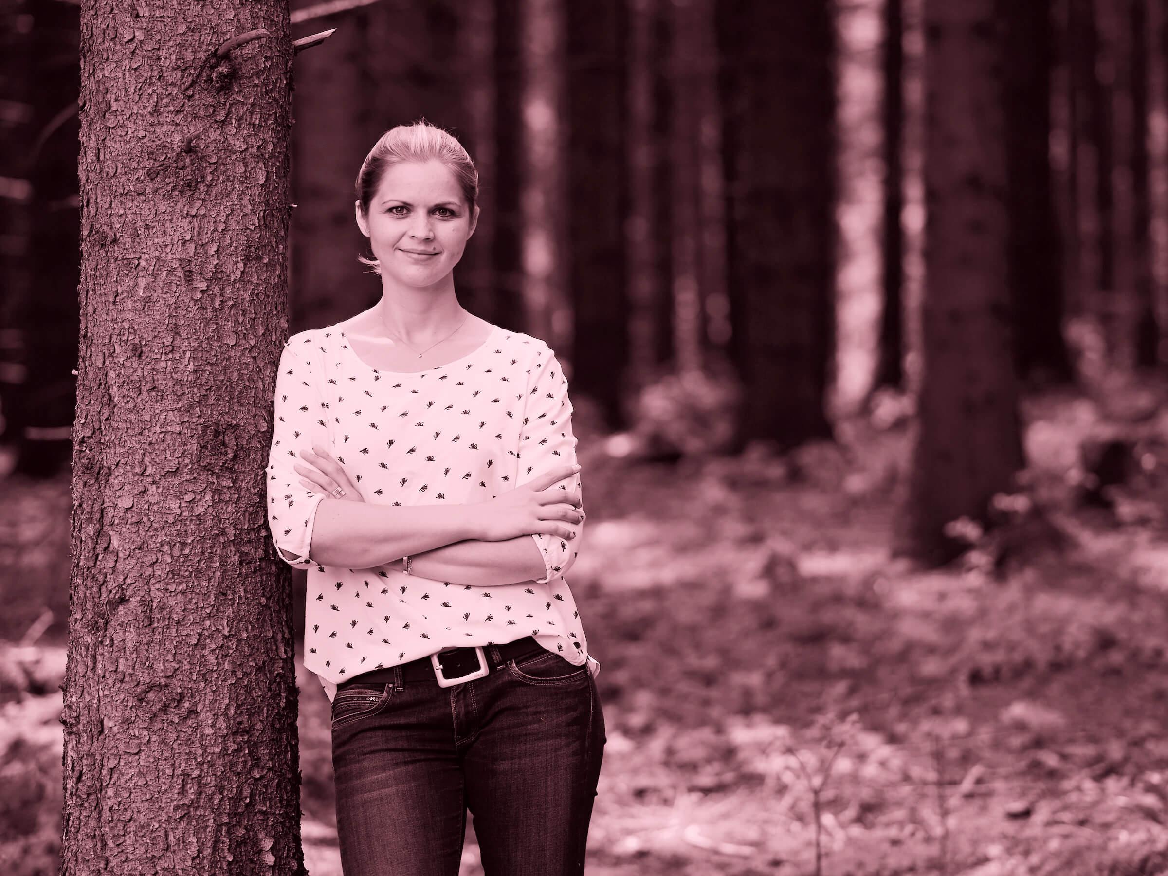 """Claudia Zinner: """"Ich möchte den unbeachteten Mehrwert und das Potential der Lanwirtschaft wieder greifbar machen."""""""